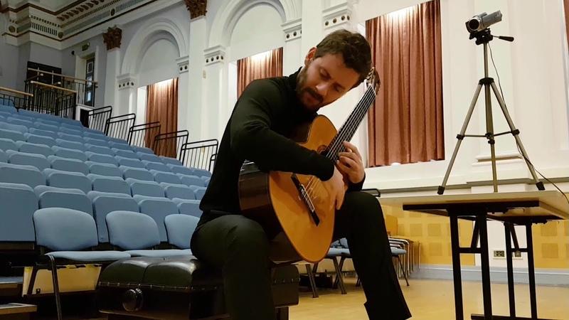 Marek PASIECZNY TATE SONATA Giacomo SUSANI guitar