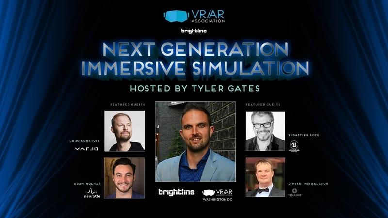 2020 VR AR Association Global Summit Next Generation Immersive Simulation