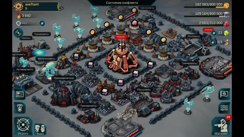 13 3~12 6 20 Star Wars Вторжение Commander RTS стратегия Android ios mobile game мобильная игра aseftant