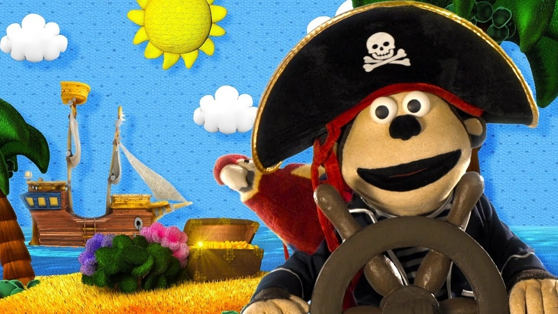El capitán pirata y los medios de transporte Mono Bubba y sus Amigos 2017