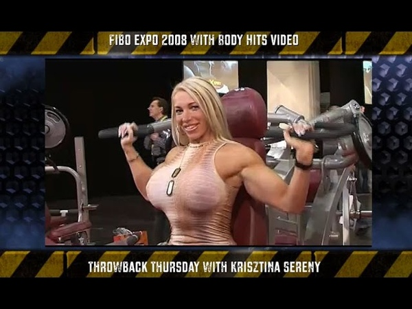 FIBO 2008 Essen Fitness Expo Part1 Videoclip Throwback thursday with Krisztina Sereny fitness pro