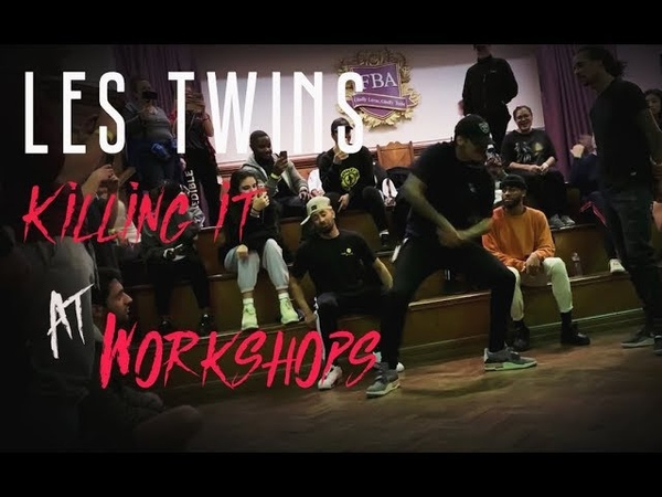 LES TWINS Killing The Beat At Workshops Try not to get hyped