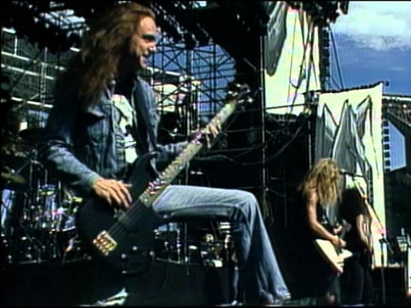 Metallica For Whom the Bell Tolls Live Cliff 'Em All