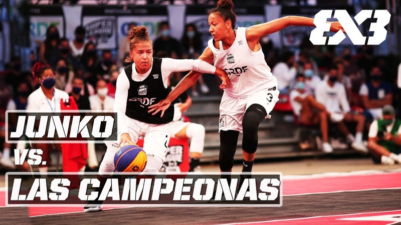 Junko vs Las Campeonas Full Women's FINAL Game Open de France 3x3 2020