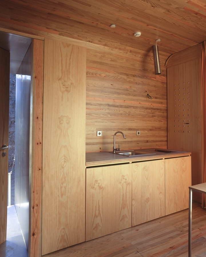 Модульный эко-дом Nautic Cleb в Португалии от Cannata