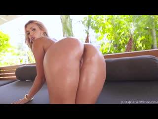 Жопастую латинку Kelsi Monroe ебут в 2 два члена ствола хуя анал жопу попу сраку задницу порно ANAL DP Masters porn sex latina