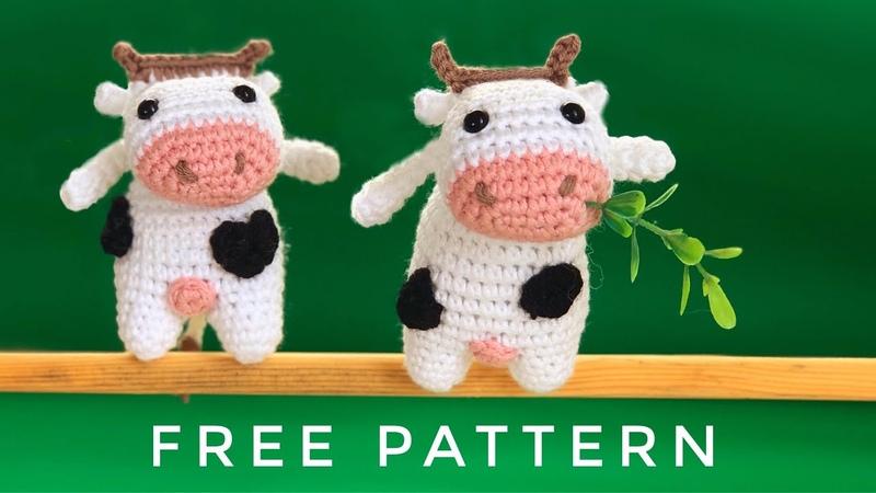 AMİGURUMİ SÜTAŞ MİNİK BUZAĞI YAPIMI Amigurumi Free Pattern sütaşreklamineği