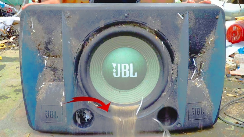 Recover very old JBL speakers abandoned in the landfill Reuse Antique Sounds