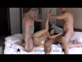 WoodmanCastingX Regina Sparks - XXXX - My first DAP destruction by 4 men () Full Version rq