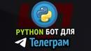 Пишем реальный TELEGRAM бот на Python БД Парсинг