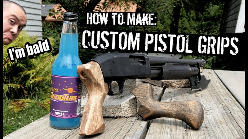 How to Make Custom Shotgun Pistol Grips Even if You're Bald Like Me