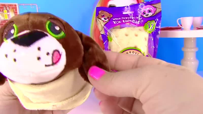 ЧТО В БУРРИТО! НОВЫЕ СЮРПРИЗЫ В ЕДЕ! Единорожки Барби Мультик! Surprise Toys