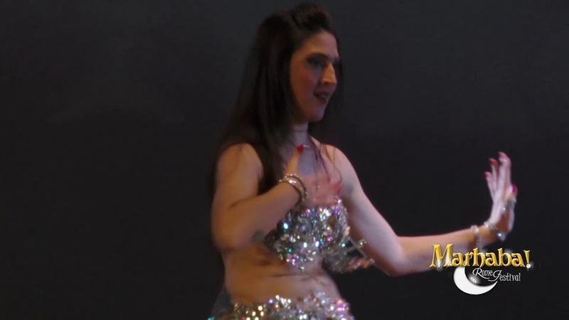 Francesca Negma Orlando, Italian belly dancer, for Marhaba!