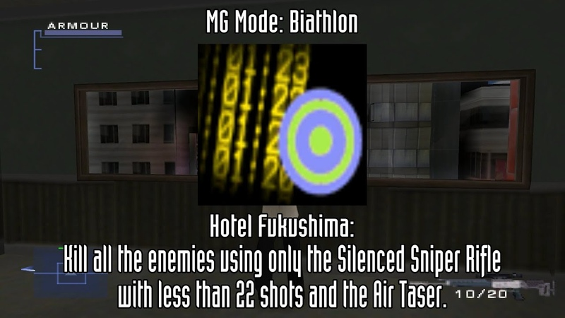 Syphon Filter 3 Two Player and Mini Game Unlockables
