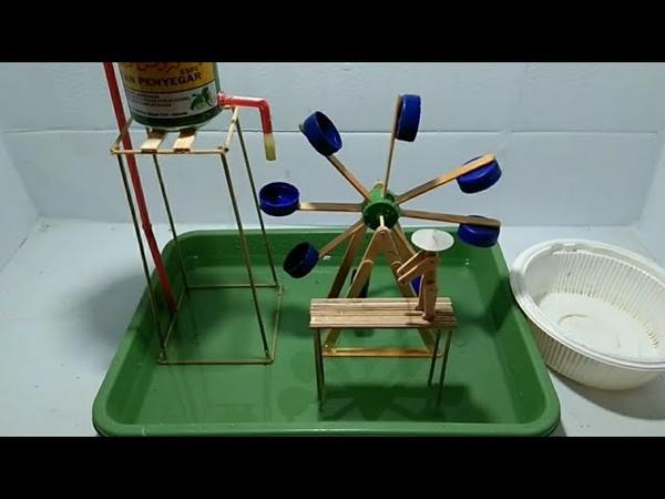 Cara membuat kincir air pak tani tampa listrik