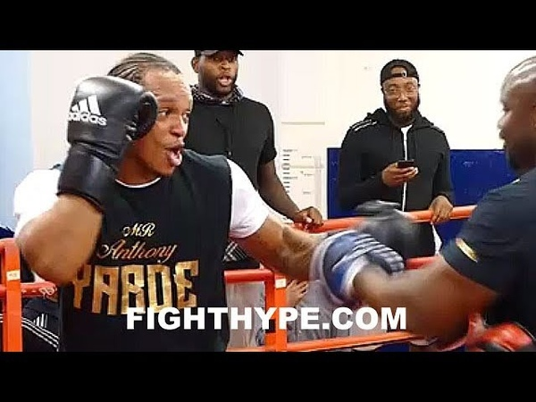 WHOA ANTHONY YARDE LOOKING LIKE MAYWEATHER AT 175 KILLING MITTS DON'T HATE ME FOR HAVING FUN