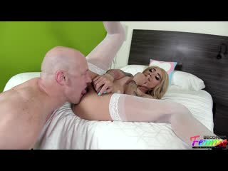 [BecomingFemme.com] Audrey Maffia - Stunning Mexican Sissy Gets Loved Up And Banged [20.03.2020 ., Shemale, Anal, Bareback]