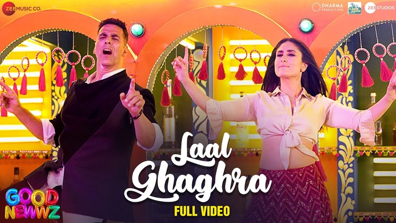 Laal Ghaghra Full Video Good Newwz Akshay K Kareena K Manj M Herbie S Neha K Tanishk B