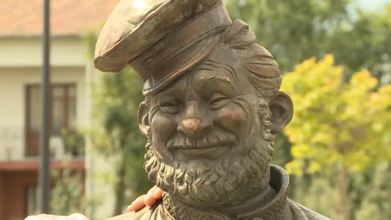 В Рязани открыли скульптуру косопуза