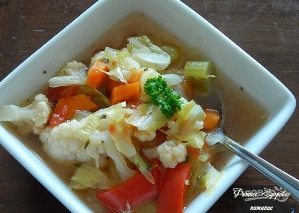 Суп для пoхудeния из ceльдepeя