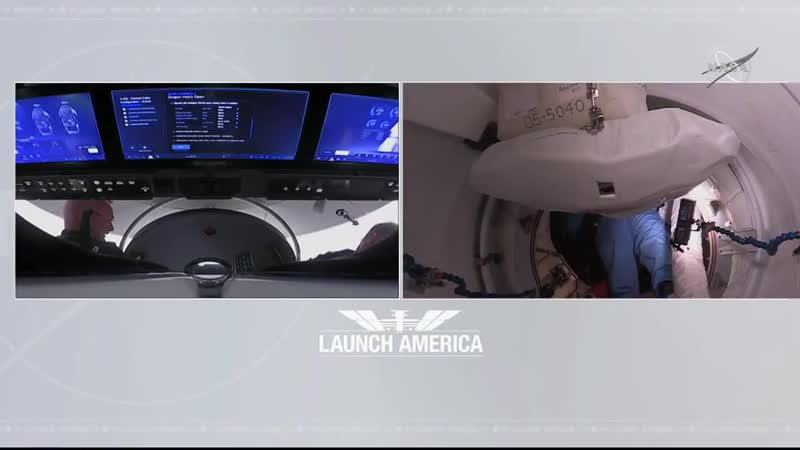 They made it After launching from NASAKennedy on the @SpaceX Dragon Endeavour spacecraft