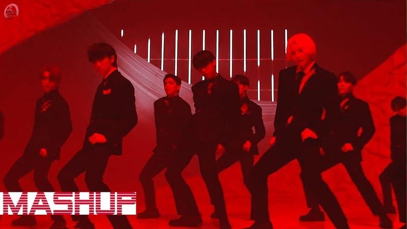 BTS SEVENTEEN FAKE LOVE FEAR MASHUP