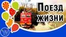 Поезд Жизни. День Железнодорожника. Красивое видео поздравление с Днем Железнодорожника России!