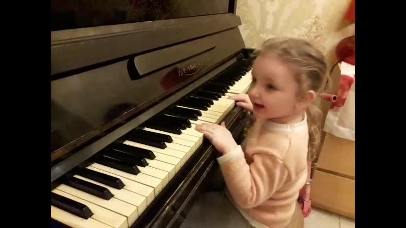 дома играем на пианино март 2020