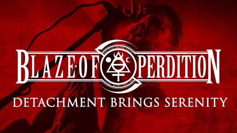 BLAZE OF PERDITION Detachment Brings Serenity Live at F O A D Fest III