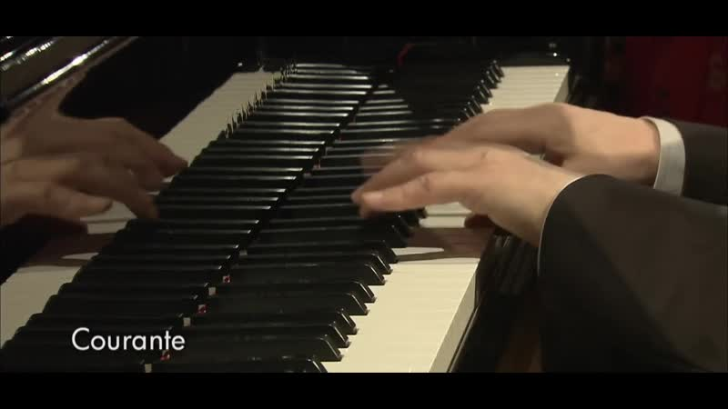 András Schiff Bach French Suite No 2 in C minor BWV813 Segment 0 x264