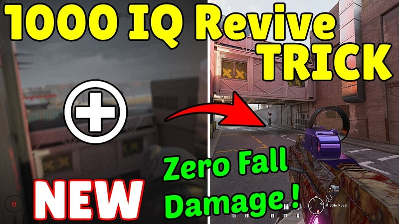 The * NEW * 1000 IQ Revive Trick To Take ZERO DAMAGE | Oryx Climbs TWO Hatches - Rainbow Six Siege