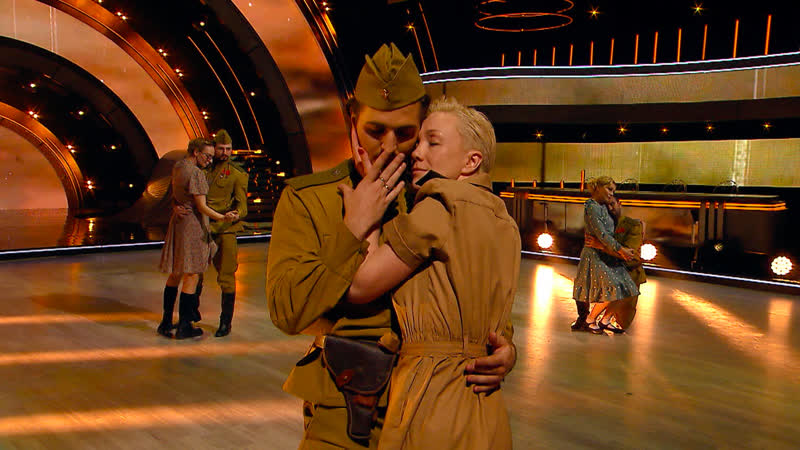 10 мая участники проекта Танцы со звёздами будут исполнять танцы под музыку военных лет