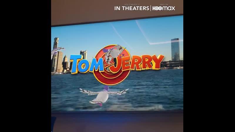 Промо к фильму Том и Джерри