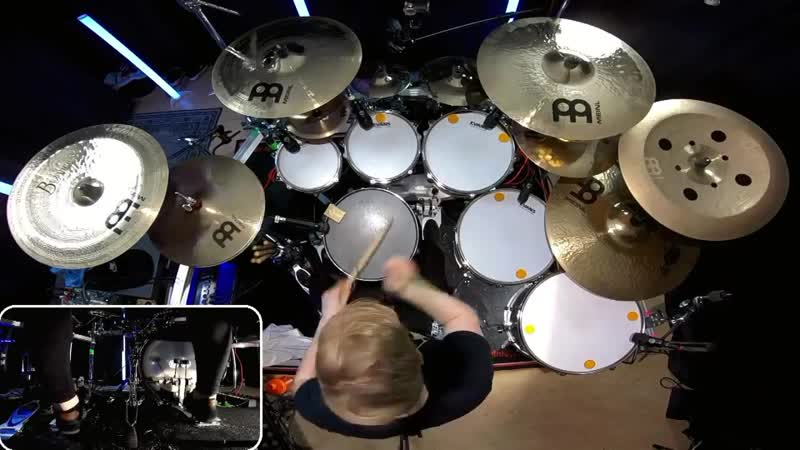 Thy Art Is Murder Chemical Christ Drum Cover