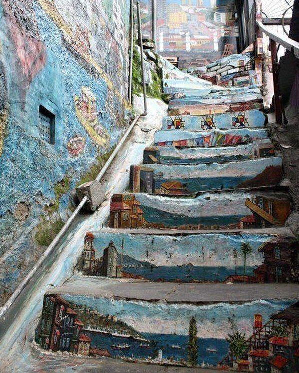 Лестница в Вальпараисо