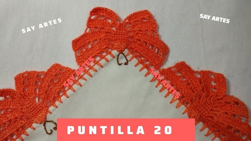 Puntilla 20 Mariposas🦋 Say Artes