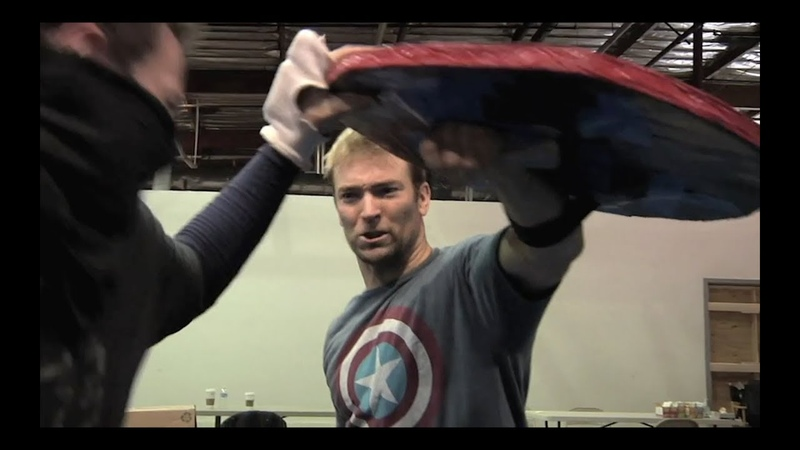 Captain America The Winter Solider Original Stunt Previz