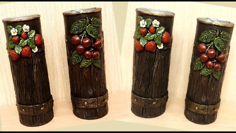 DIY Idea with Pringles tubes Kitchen decoration