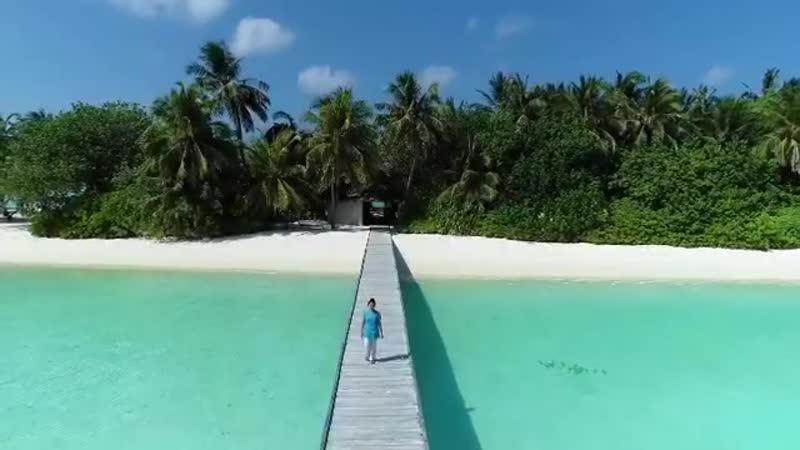 Привет с Мальдивских островов!