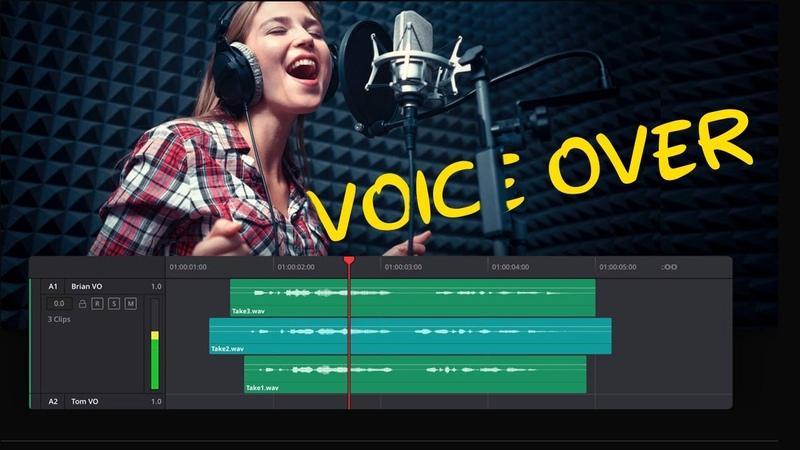 Davinci Resolve 17 Tutorial Voice Over in Davinci Resolve Recording Voice Over Audio HINDI