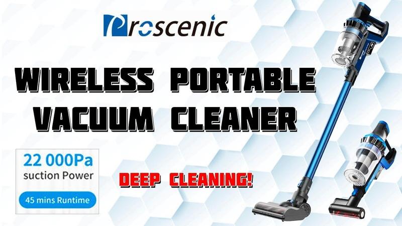 HANDHELD WIRELESS VACUUM CLEANER PROSCENIC P10