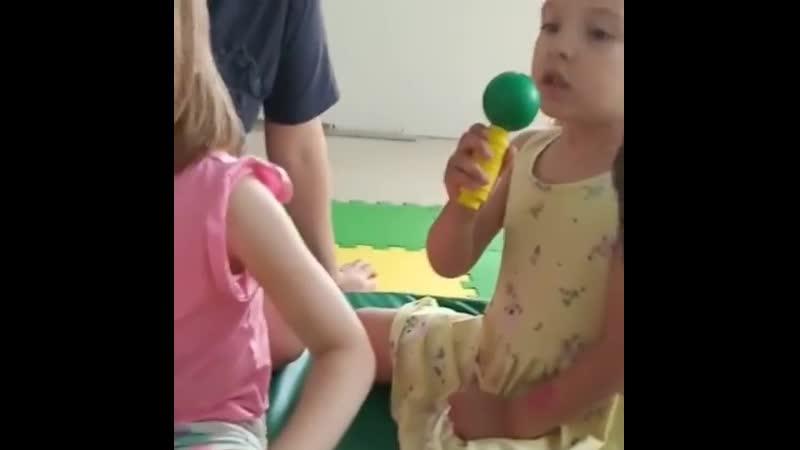 Первым стартовал мини садик😃 Как же здорово все таки общаться с детками вживую эти эмоции ни с чем не сравнятся Успели уже отм