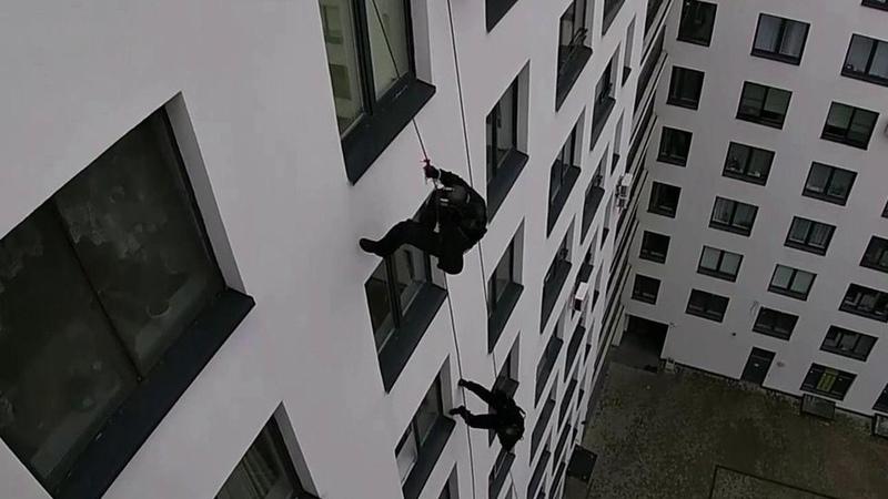 ВСанкт-Петербурге задержание преступников превратилось внастоящий голливудский блокбастер