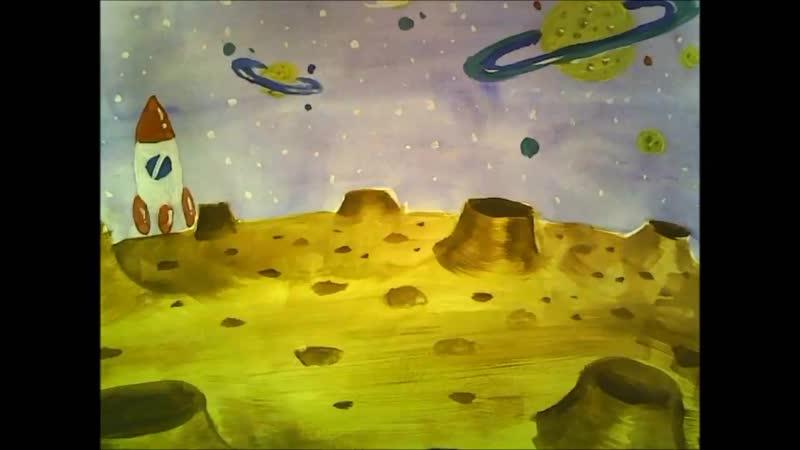 Космическая гимнастика - мультфильм студии Мульти Детки.mp4