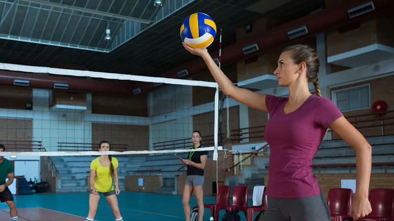 Волейбол против грусти