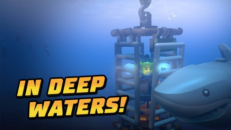 In Deep Waters A LEGO® City Ocean Adventure