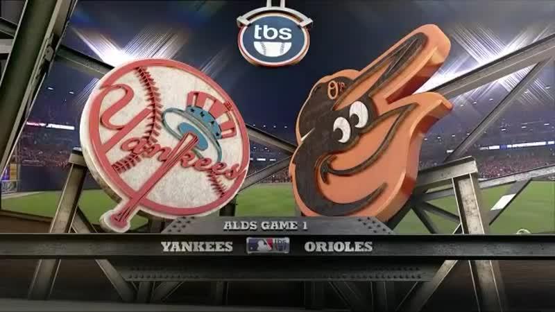 Постсезонье 2012 ALDS Балтимор Ориолс Нью Йорк Янкиз 1 й матч серии