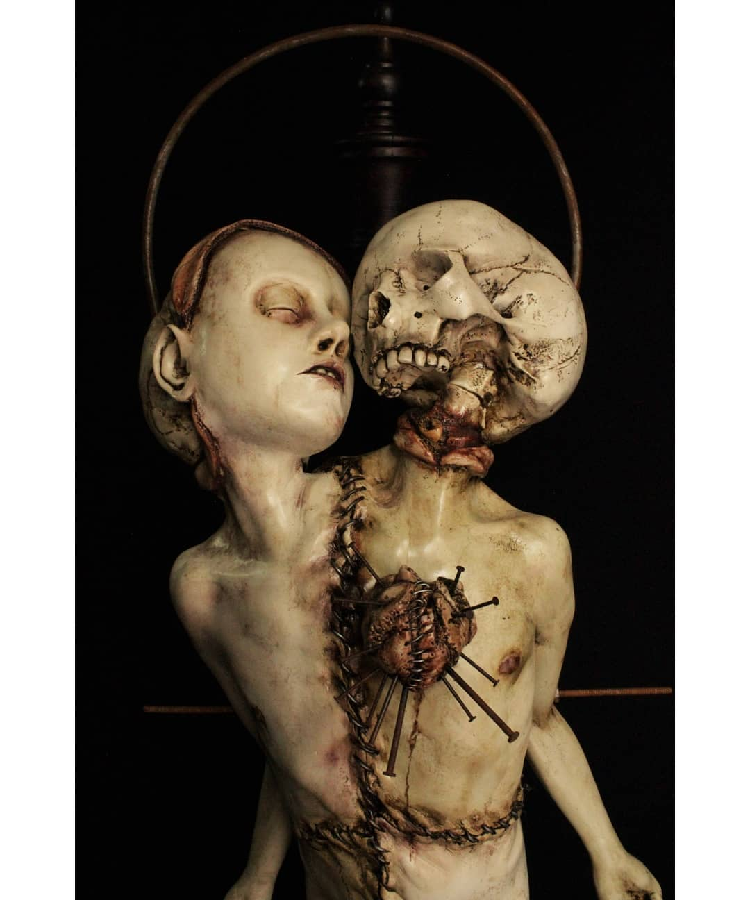 Мексиканский скульптор Эмиль Мелмот