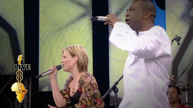 Dido Youssou N'Dour 7 Seconds Live 8 2005