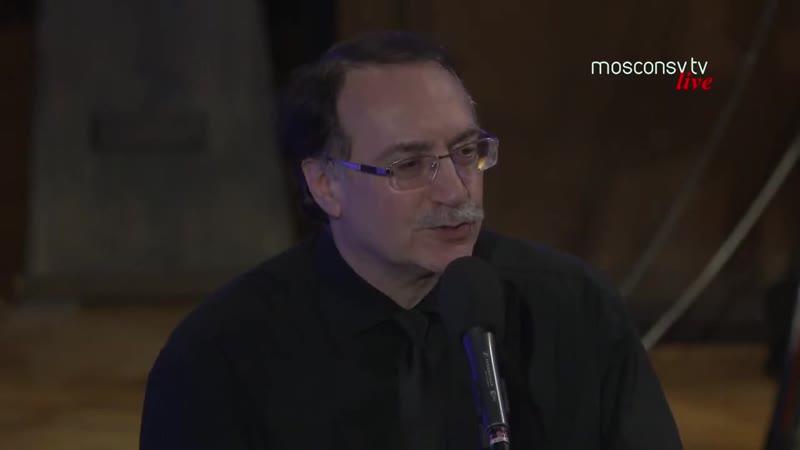Даниил Крамер Видеовопрос на стене сообщества фрагмент концерта 17 01 21